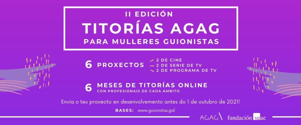 II Edición das Titorías AGAG para mulleres guionistas